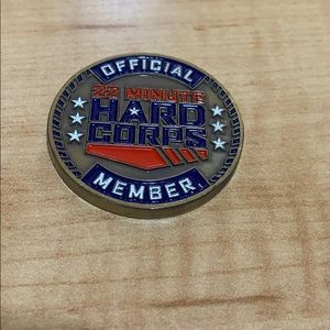 22 MINUTE HARD CORPS CHALLENGE COIN